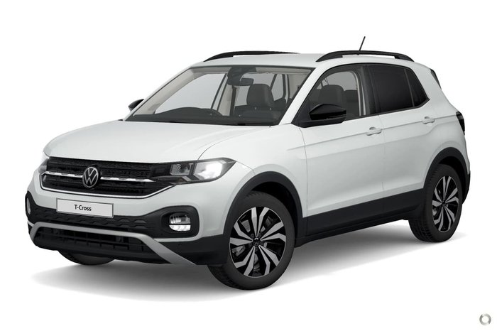 2021 Volkswagen T-Cross 85TSI CityLife C1 MY21 White