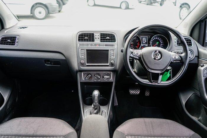2014 Volkswagen Polo 81TSI Comfortline 6R MY15 Reflex Silver