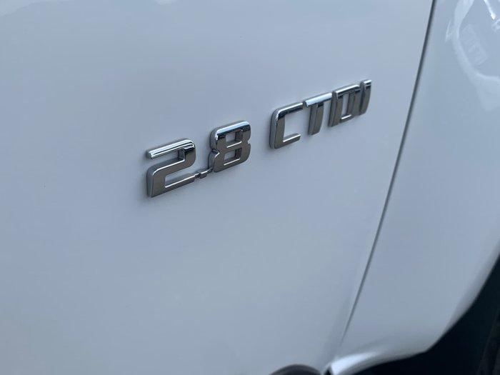 2012 Holden Colorado LTZ RG MY13 4X4 Dual Range Alpine White