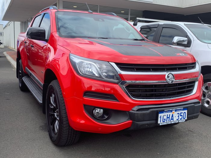 2016 Holden Colorado Z71 RG MY17 4X4 Dual Range Absolute Red