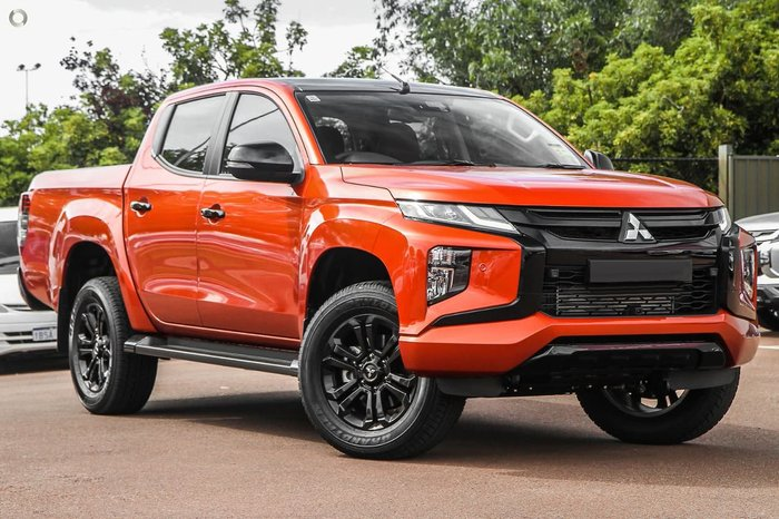 2021 Mitsubishi Triton GSR MR MY21 4X4 Dual Range Sunflare Orange with Black Roof