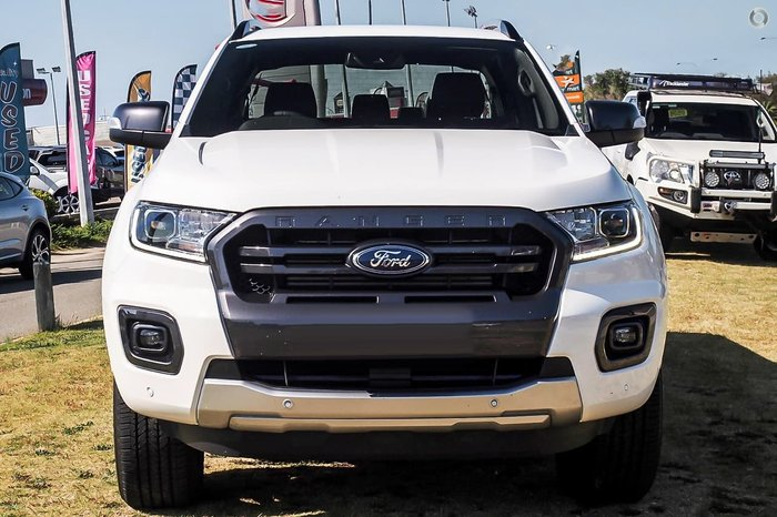2020 Ford Ranger Wildtrak PX MkIII MY21.25 4X4 Dual Range White