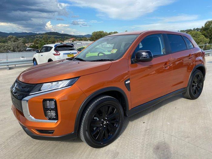 2020 Mitsubishi ASX MR XD MY21 Sunshine Orange