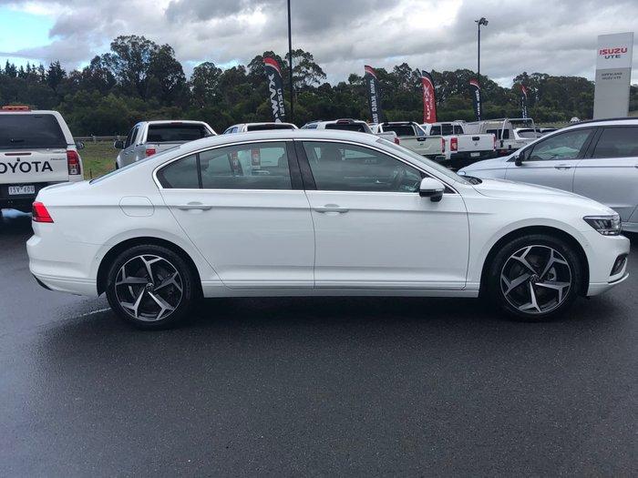2021 Volkswagen Passat 140TSI Business B8 MY21 Pure White