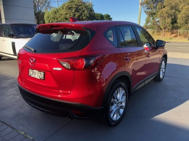 2014 Mazda CX-5 Grand Touring KE Series MY14 AWD Red