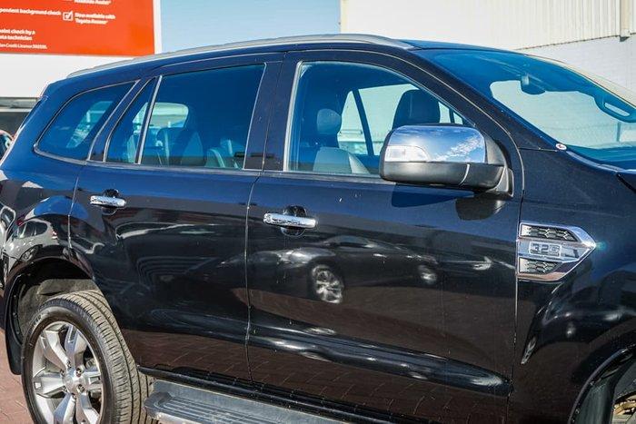 2016 Ford Everest Titanium UA 4X4 Dual Range Black Mica