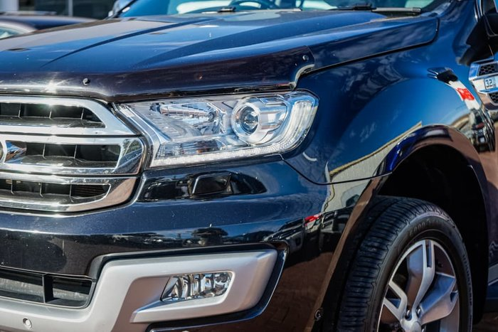 2016 Ford Everest Titanium UA 4X4 Dual Range Black Mica