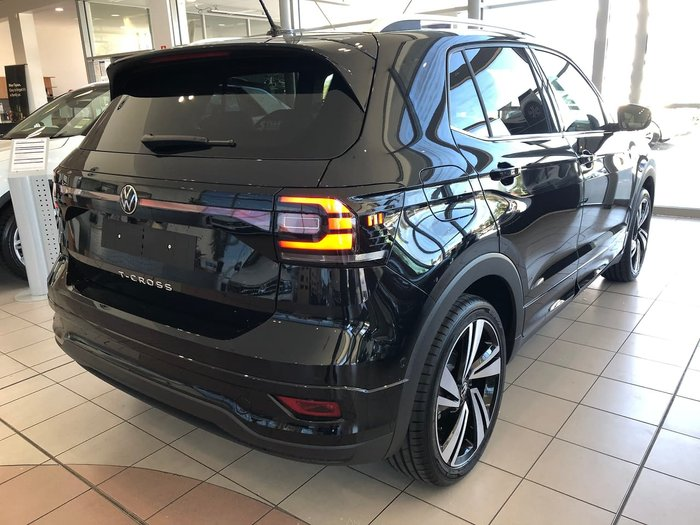 2021 Volkswagen T-Cross 85TSI Style C1 MY21 Black
