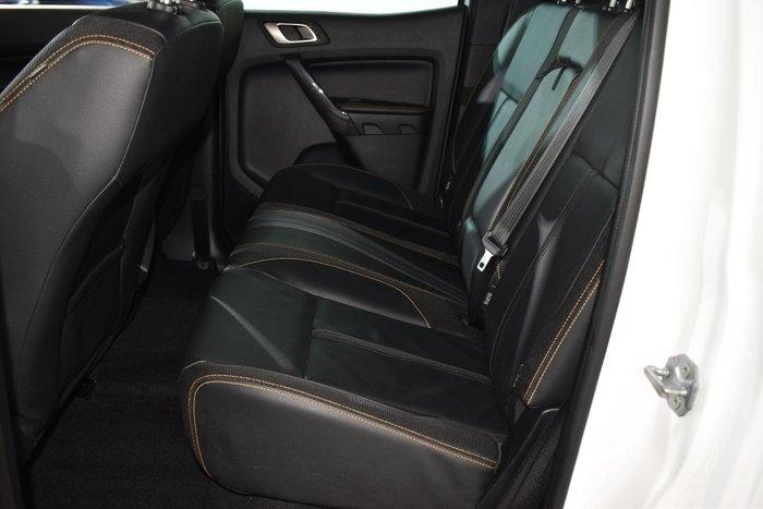 2019 Ford Ranger Wildtrak PX MkIII MY19 4X4 Dual Range Frozen White