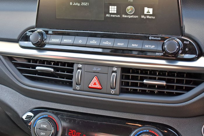 2021 Kia Cerato GT BD MY21 Steel Grey