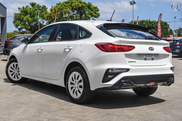 2020 Kia Cerato S BD MY21 Clear White