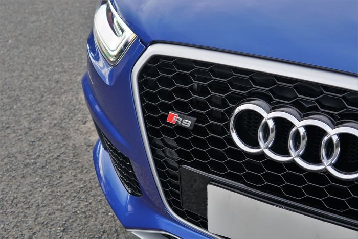 2014 Audi RS Q3 8U MY14 Four Wheel Drive Blue
