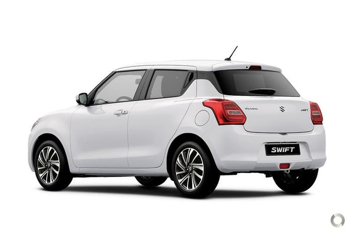 2021 Suzuki Swift GLX Turbo AZ Series II Pure White