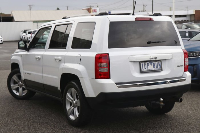 2014 Jeep Patriot Limited MK MY14 4X4 On Demand Bright White