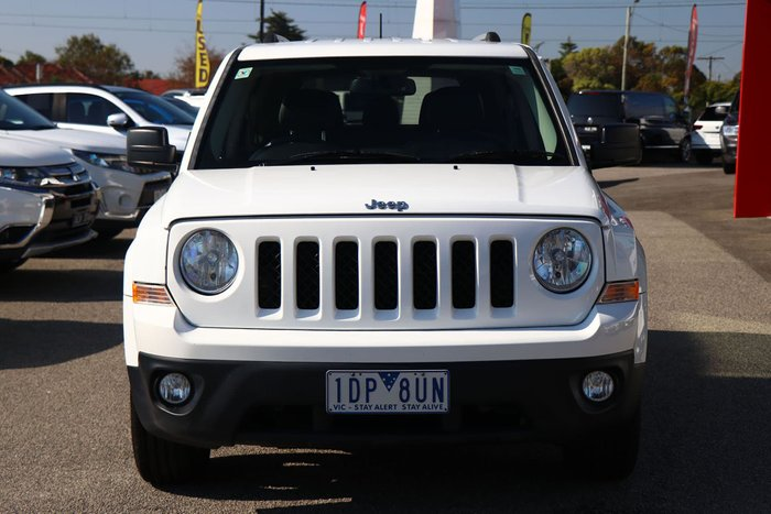 2014 Jeep Patriot Limited MK MY14 4X4 On Demand Bright White