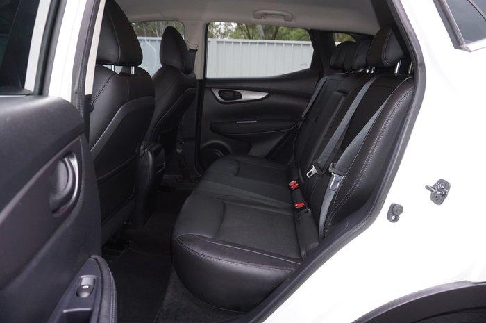 2017 Nissan QASHQAI ST-L J11 Series 2 Ivory Pearl