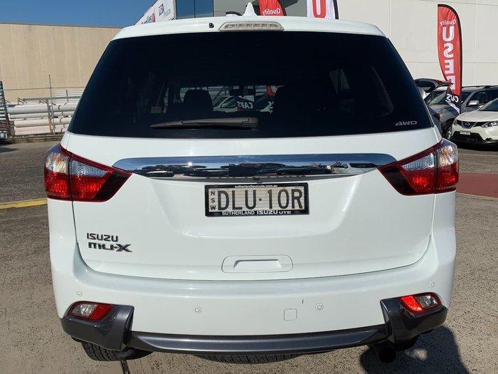 2016 Isuzu MU-X LS-U MY16.5 4X4 Dual Range White