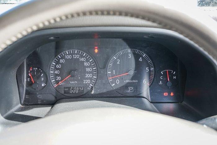 2004 Nissan Patrol Ti GU IV MY05 4X4 Dual Range Big Red