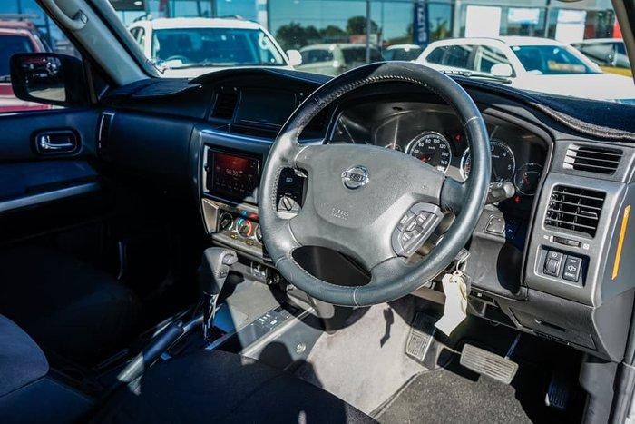 2012 Nissan Patrol ST GU 8 4X4 Dual Range Platinum