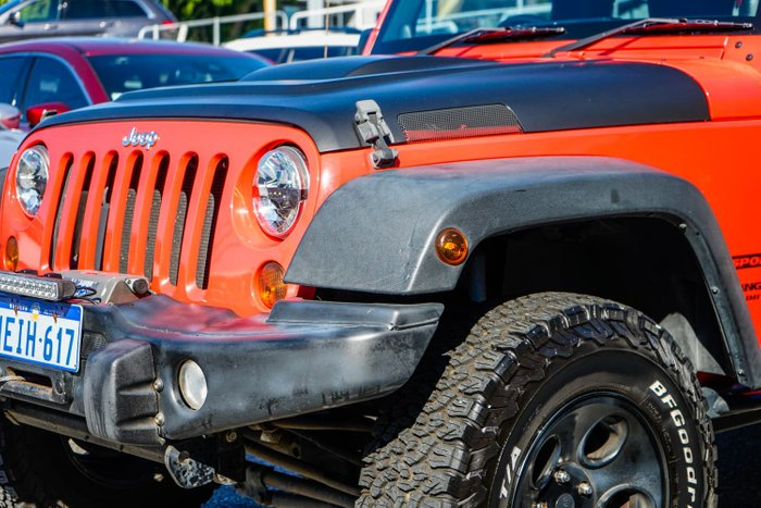 2013 Jeep Wrangler Unlimited Sport JK MY14 4X4 Orange