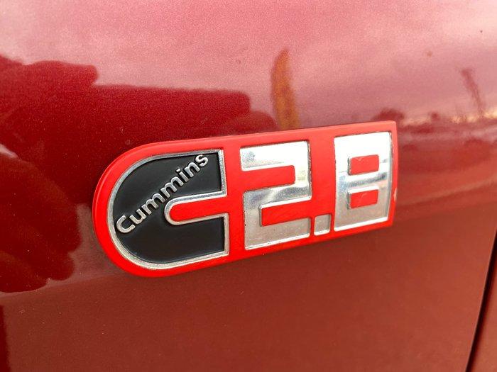 2016 Foton Tunland P201 4X4 Dual Range Passionate Red
