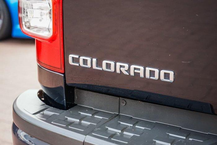2012 Holden Colorado LX RG MY13 4X4 Dual Range Black Sapphire