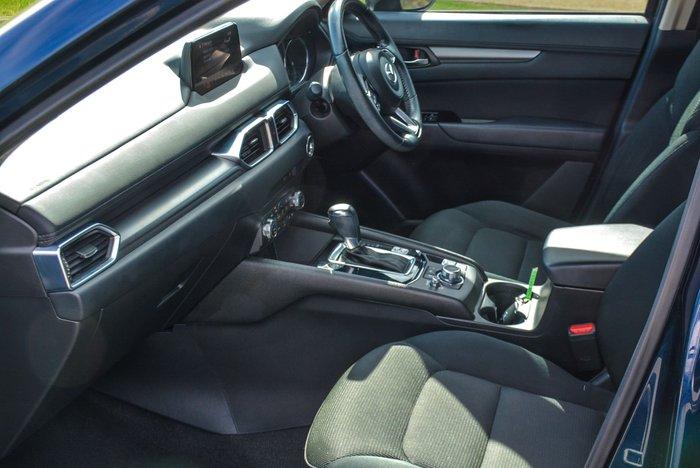 2018 Mazda CX-5 Maxx Sport KF Series AWD Deep Crystal Blue