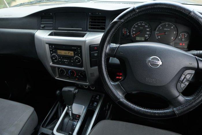 2010 Nissan Patrol ST GU 7 MY10 4X4 Dual Range White