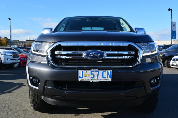 2020 Ford Ranger XLT PX MkIII MY20.75 4X4 Dual Range Grey