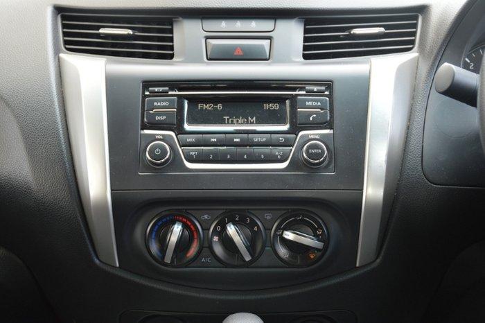 2018 Nissan Navara RX D23 Series 3 4X4 Dual Range SILVER