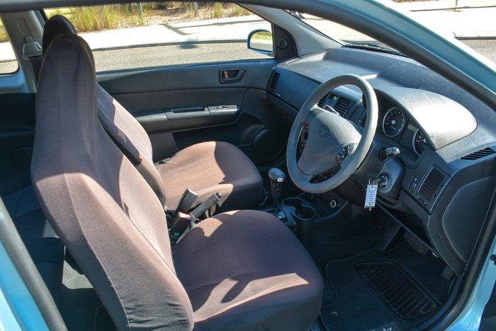 2010 Hyundai Getz S TB MY09 Sky Blue