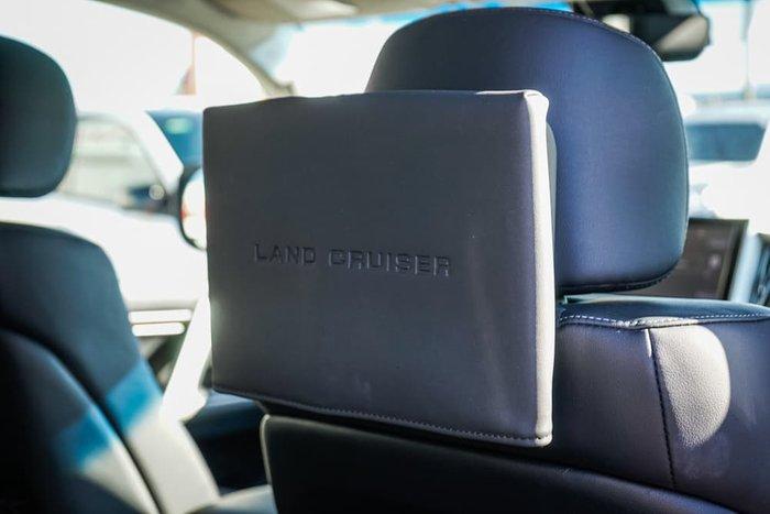 2018 Toyota Landcruiser Sahara VDJ200R 4X4 Dual Range Glacier White