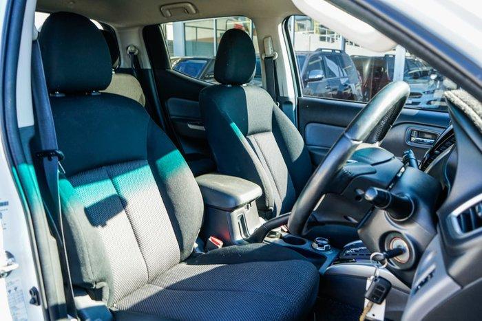 2017 Mitsubishi Triton GLS Sports Edition MQ MY17 4X4 Dual Range Starlight