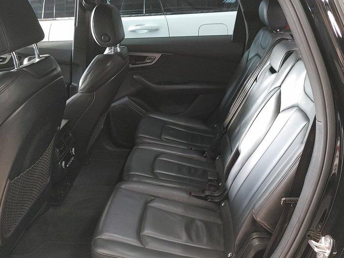 2015 Audi Q7 TDI Sport MY15 Four Wheel Drive Black