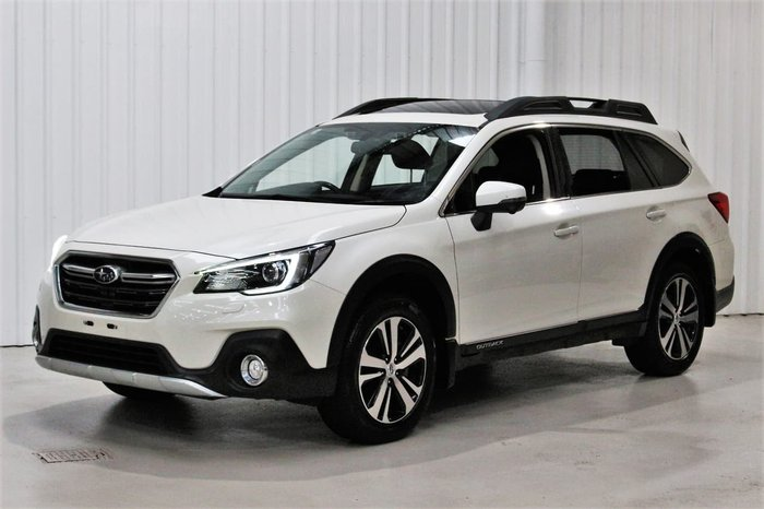 2018 Subaru Outback 2.0D Premium 5GEN MY18 AWD White