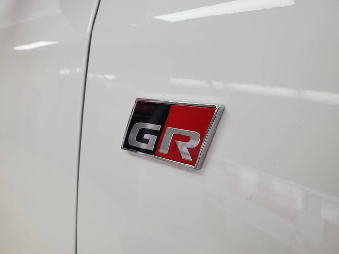 2020 Toyota Yaris GR GXPA16R Four Wheel Drive Glacier White