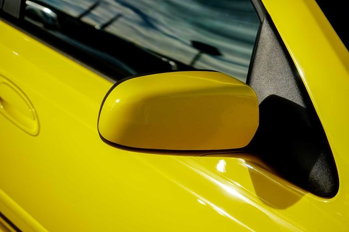 2005 Ford Falcon XR8 BA Mk II Yellow