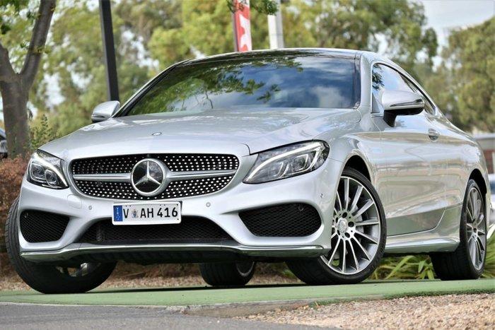 2016 Mercedes-Benz C-Class C300 C205 Silver
