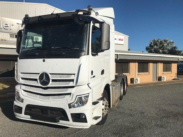 2021 Mercedes-Benz 2663 Actros White
