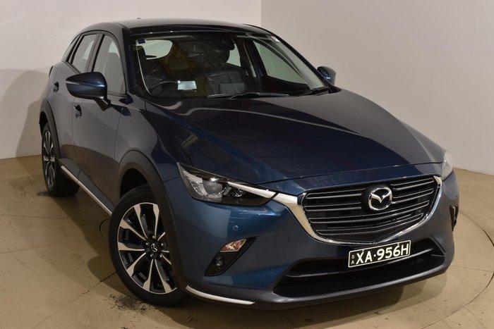 2018 Mazda CX-3 sTouring DK Eternal Blue