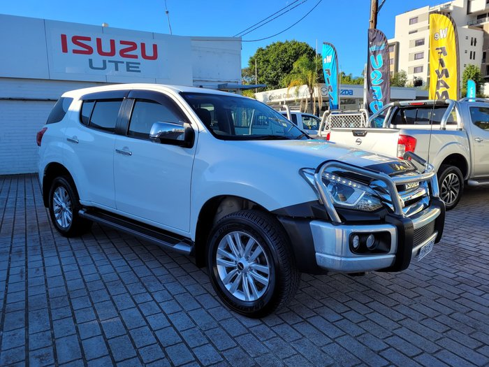 2017 Isuzu MU-X LS-U MY17 4X4 Dual Range Silky White