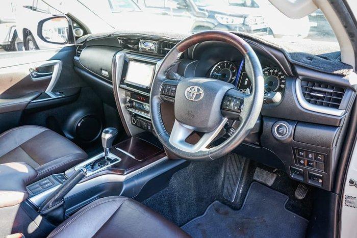 2017 Toyota Fortuner Crusade GUN156R 4X4 Dual Range Crystal Pearl