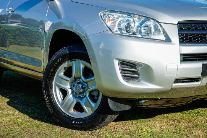 2009 Toyota RAV4 CV ACA33R MY09 4X4 On Demand Silver Pearl