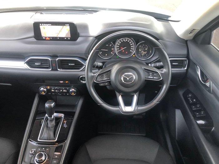 2017 Mazda CX-5 Maxx Sport KE Series 2 AWD Deep Crystal Blue