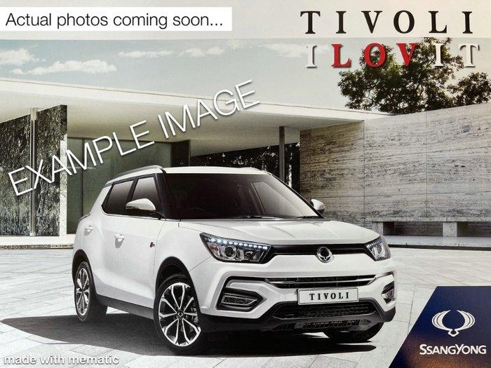 2019 SsangYong Tivoli ELX X100 SILVER