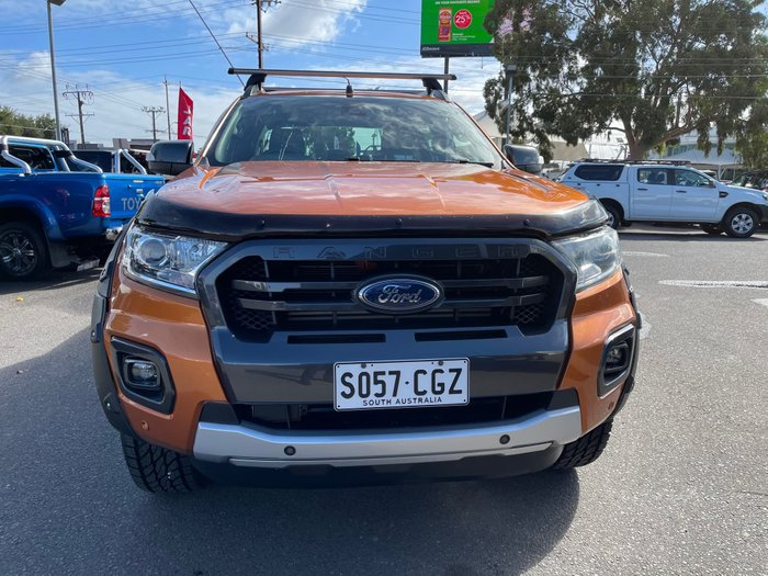 2017 Ford Ranger Wildtrak PX MkII 4X4 Dual Range Pride Orange