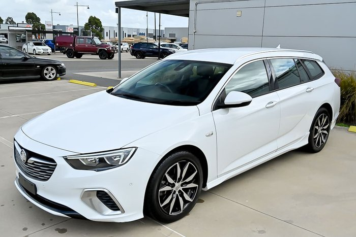 2019 Holden Commodore RS ZB MY19.5 White
