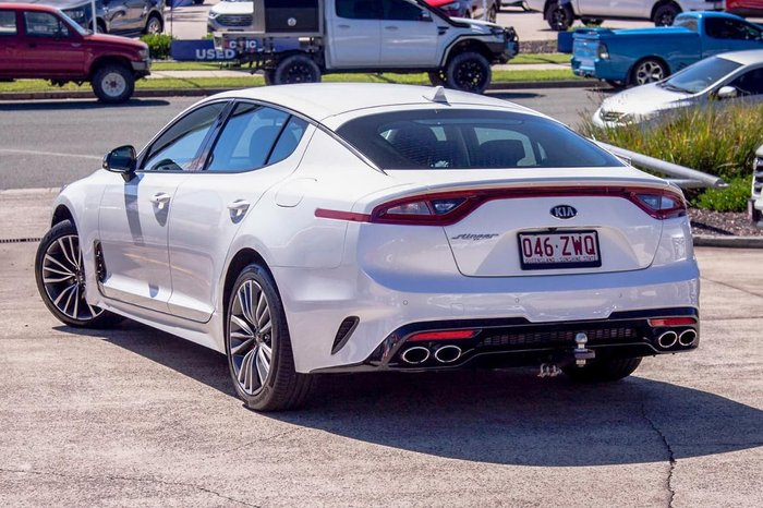2018 Kia Stinger 330S CK MY18 White