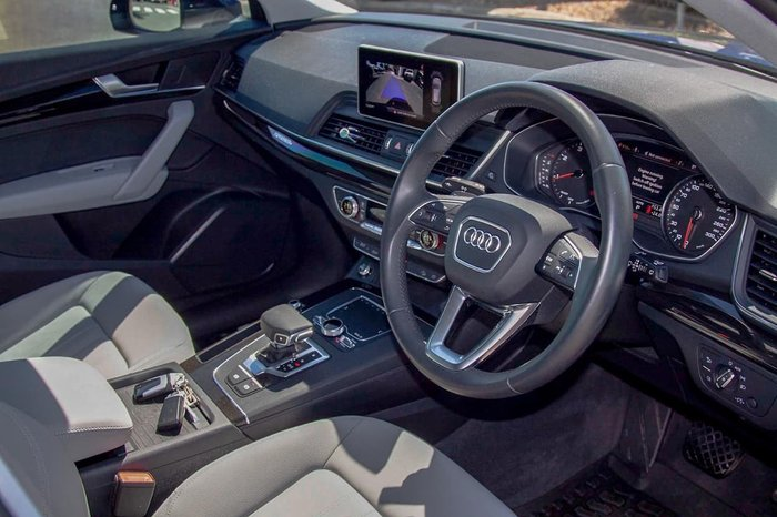 2019 Audi Q5 40 TDI design FY MY20 4X4 On Demand Blue