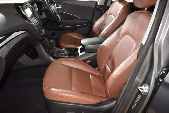 2015 Hyundai Santa Fe Highlander DM2 MY15 4X4 On Demand Grey